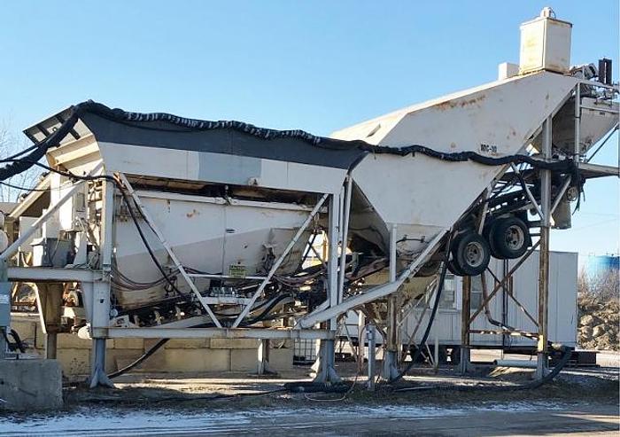 Refurbished Erie Stayer MC10 Portable Concrete Batch Plant