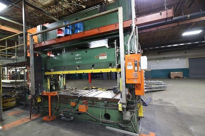 Used 200 TON PACIFIC HYDRAULIC PRESS