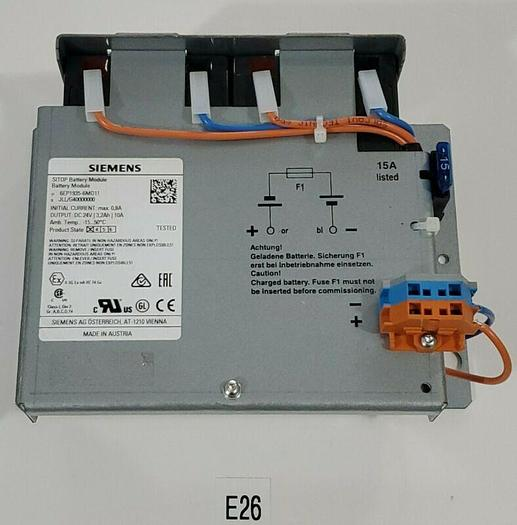 Used *PREOWNED* Siemens 6EP1935-6MD11 Battery Module + Warranty & Free Shipping!