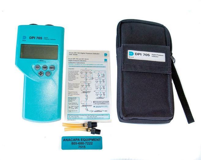Used Druck DPI705 70516262 Digital Pressure Indicator USED (7515)W
