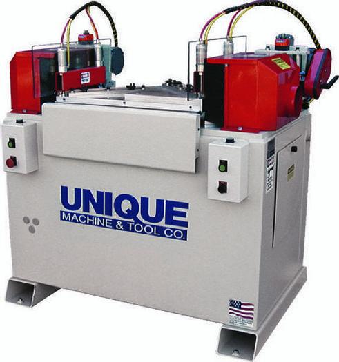 Used Unique Machine and Tool Unique 313 Finger Joint Miter Machine