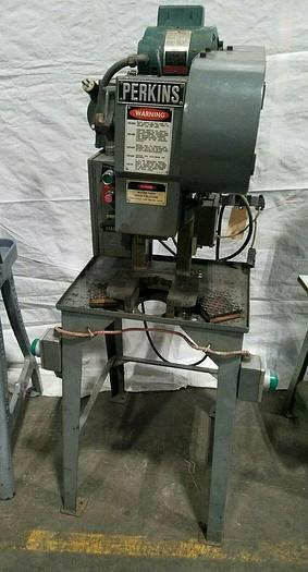 Used 3 Ton Perkins Stamping Punch Press Model 3-C Stamp Bend Forge Metal 115V