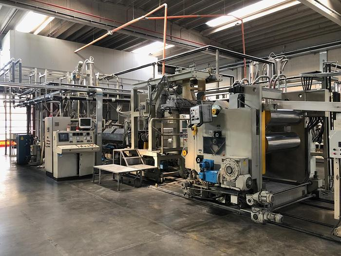 2001 Bandera PET Extrusion Line