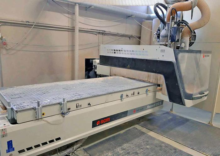 Used 2005 SCM Italy CNC machine SCM Record 110S
