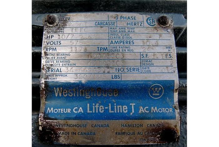 "USED GRANULATOR, 10 H.P., 5"" X 12"", MILL"