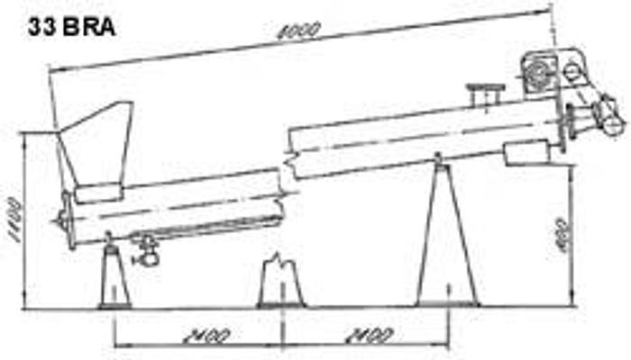 Używane Blanszownik rurowy Typ 33 BRA