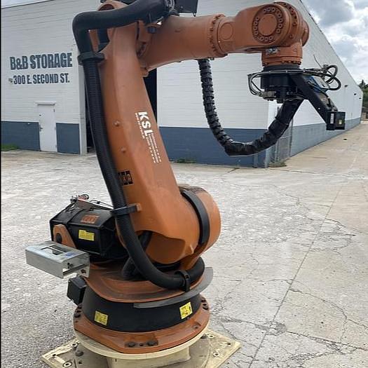 Used KUKA KR 100-2 HA 2000 HIGH ACCURACY ROBOT 100KG X 2600MM HIGH REACH