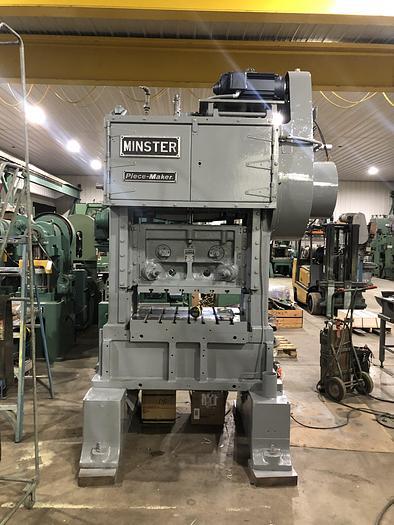 "Refurbished 45 Ton, MINSTER, No. P2-45-36** (40""), 2-1/2"" STROKE, STRAIGHT SIDE PRESS"