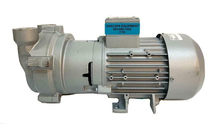 Used Rietschle Nash_Elmo L200 L-BV2 Liquid Ring Compressor 2BV2060 (7779) W