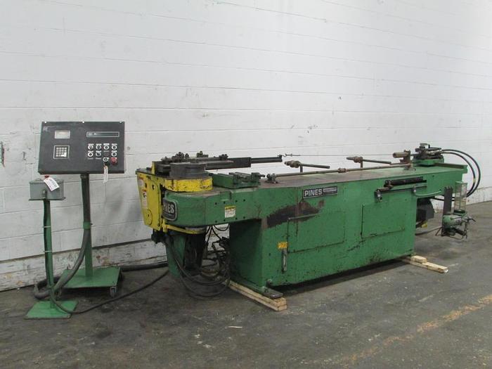 Pre-owned Pines No:2 mandrel tube bending machine