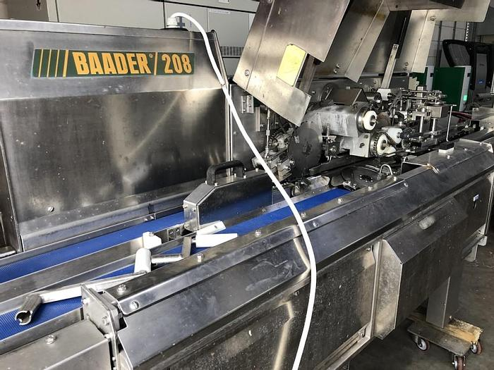 Used Baader 208 filleting machine