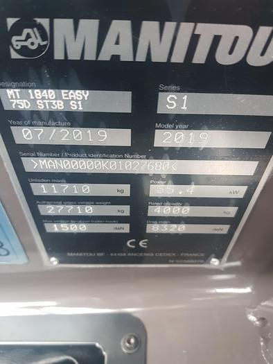 MANITOU  MT 1840 - 18 metre