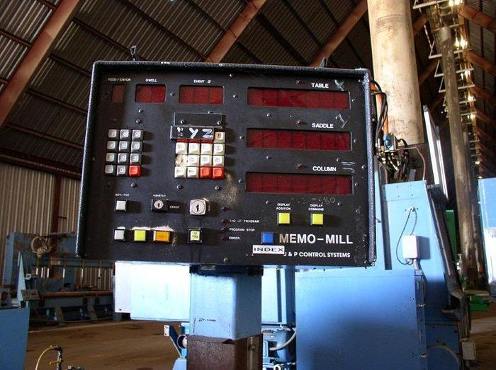 "10"" x 55"" NIIGATA 3UM Universal Milling Machine; 15 HP; With Kwik Switch Tooling"