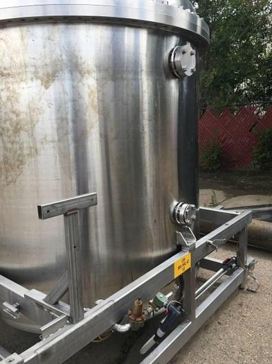 1100 Gallon Stainless Pressure Vessels Pressure Vessel