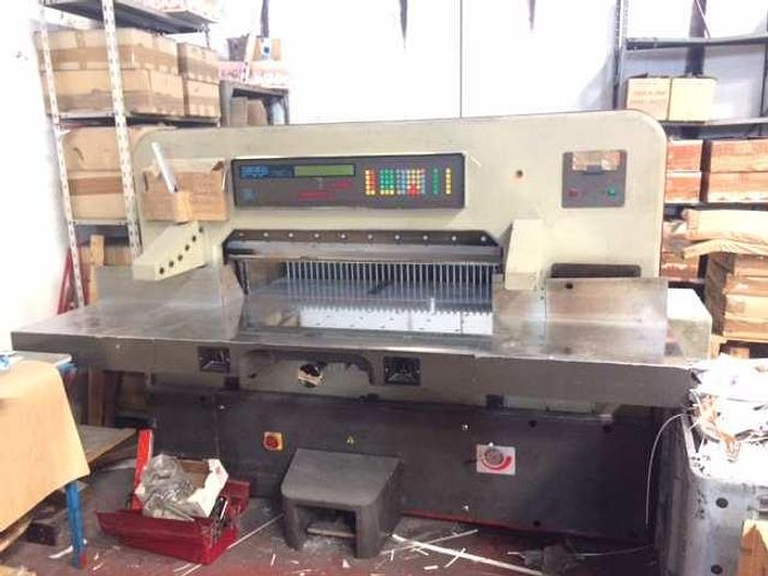 Used FTP 115 – Guillotine Cutting machine – year 2001