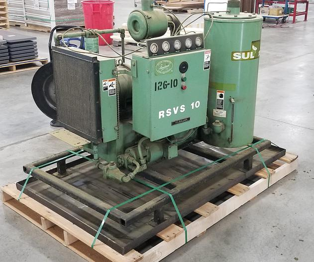Used Sullair RSVS10-10 AC Vacuum Pump