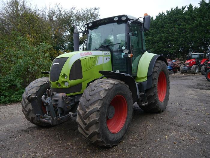 Used Claas Arion 640 4wd Tractor