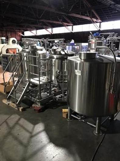 3.5 bbl BSV Direct Fired Brewhouse