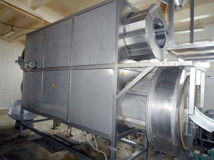SCHAAF TECHNOLOGIE FLAVOUR COATING DRUM AND DRYER/ COOLER