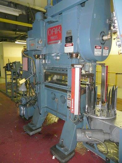 30 Ton, OAK, No. 30-LP-30, 1983, SSDC HIGH SPEED PRESS