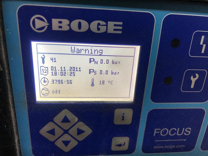 2011 BOGE S60-2 Variable Speed Rotary Screw Compressor