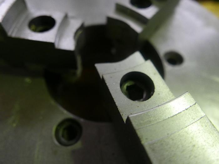 Dreibackenfutter Durchmesser 400 mm