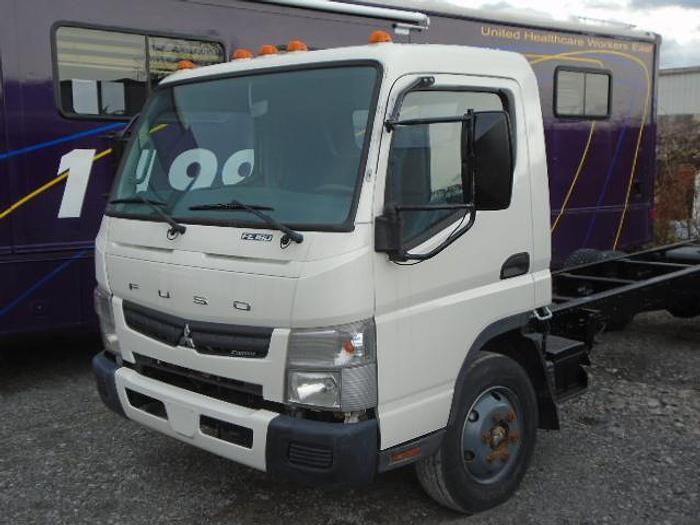Used 2012 Mitsubishi Fuso FE180 cab and chassis