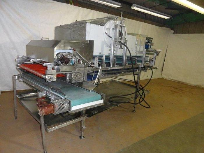 """Used Stainless Steel Cheese Rake, 40"""" all hydraulic operation"""