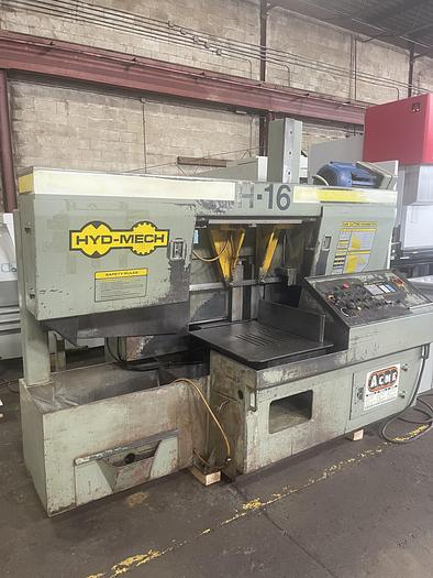 Used HYD-MECH H16A AUTOMATIC BANDSAW