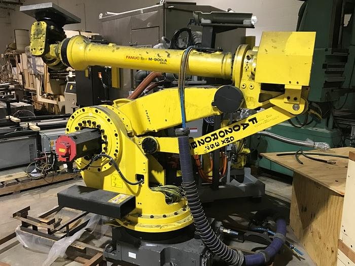 Used FANUC M900iA/260L 6 AXIS CNC ROBOT WITH R30iA CONTROLLER
