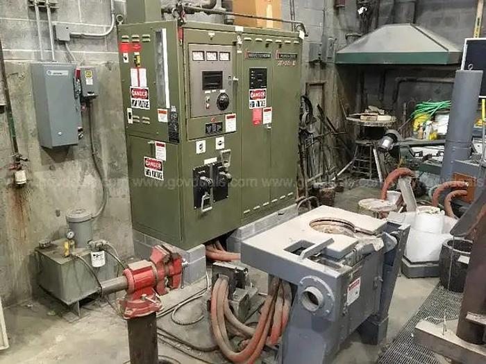 Used 2002 INDUCTOTHERM 75 KW VIP POWER TRAK