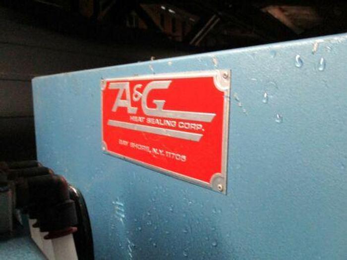 A&G 10 KW RF HEAT SEALING MACHINE / RF WELDER MODEL FF10 . 25