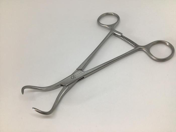 Forceps Bone Fragment Reposition Sharp Points 160mm