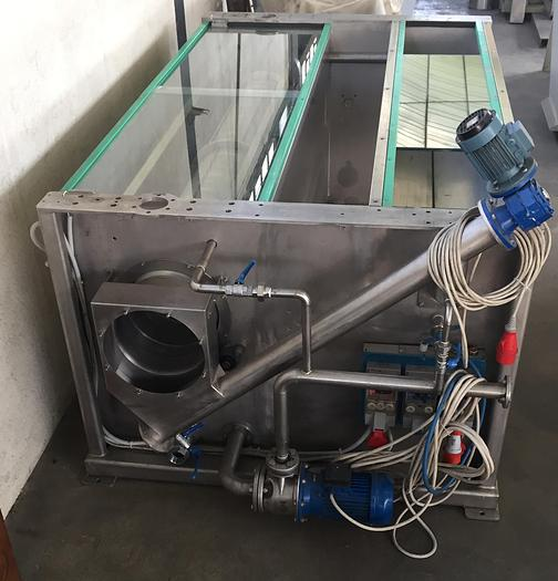 WASHING TANK WITH FILTERING SYSTEM FROM 50 mc/h AND WATER RECOVERY COSTFER
