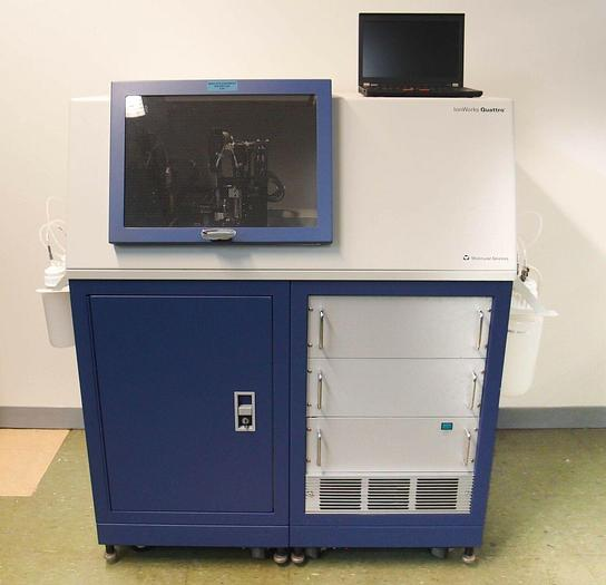 Used Molecular Devices IonWorks Quattro Patch Clamp System Computer & Software 5185