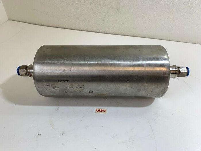 Used Festo CRVZS-2 160236 Air Reservoir 2,0mm *Warranty~Fast Shipping*
