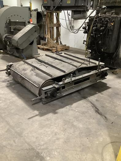 Used CROSS BELT MAGNETIC SEPARATOR