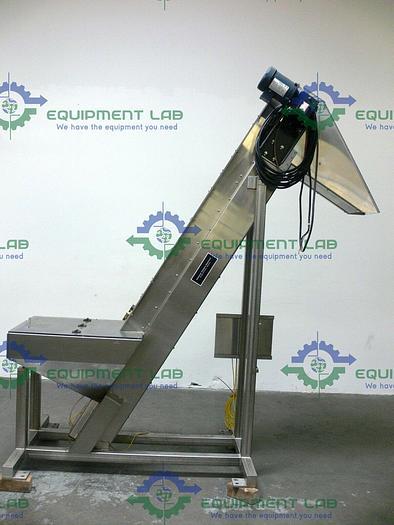 Used Hoosier 4CU BULK Stainless Steel Elevator Conveyor 480V