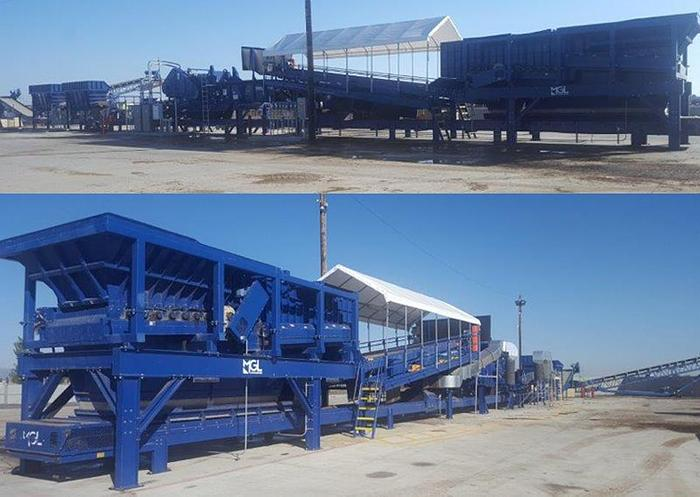 Used 2014 MGL 200FT RECYCLING LINE