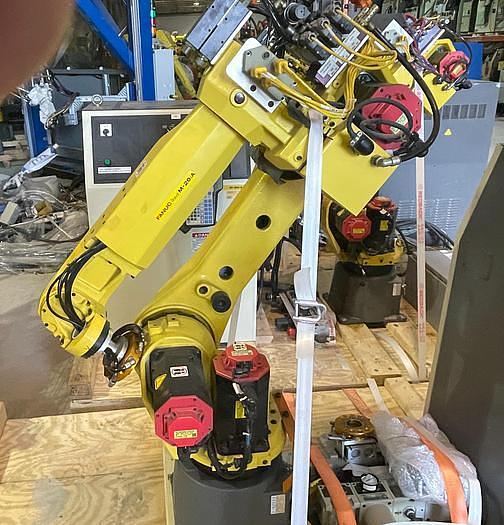 Used 2008 FANUC M20iA CNC 6 AXIS ROBOT WITH R30iA CONTROLLER