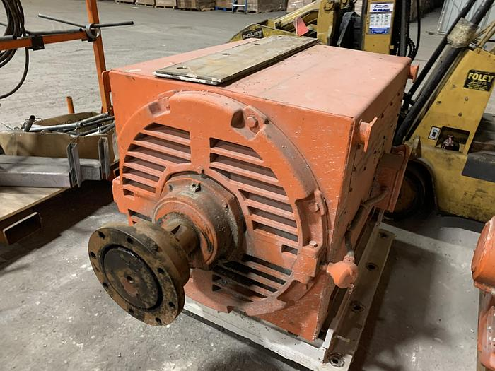 Used GENERAL ELECTRIC MOTOR 400 HP
