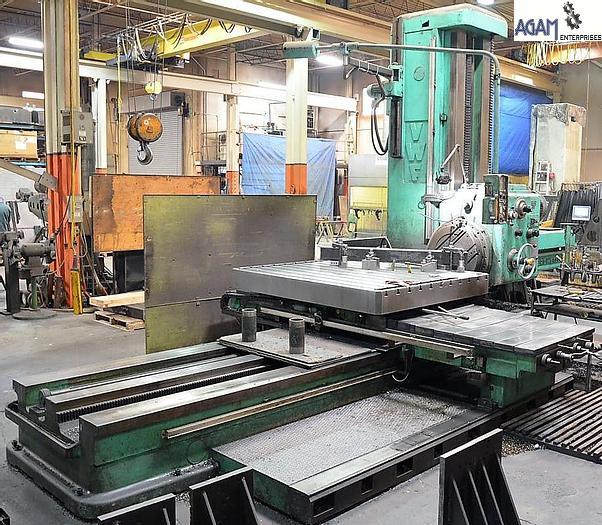 Used VWF BFN 125 Table Type Horizontal Boring Machine