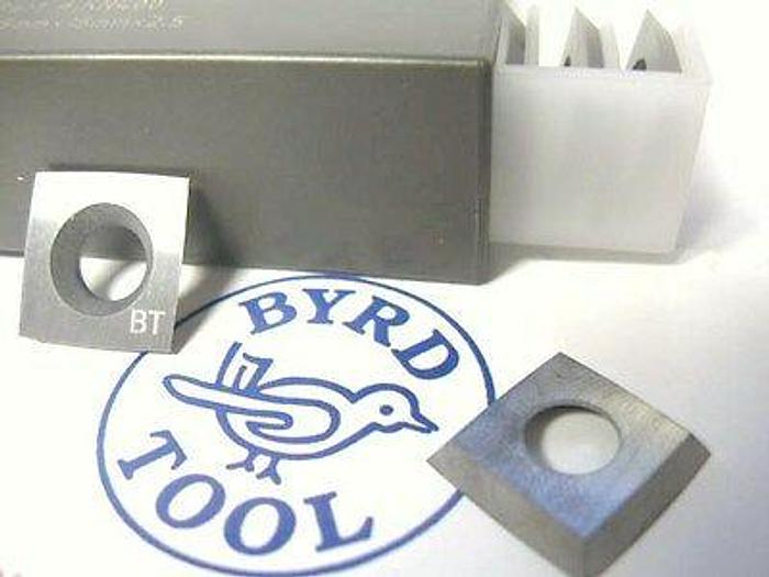 KN400 SHELIX Carbide Inserts Grade A (10 inserts)