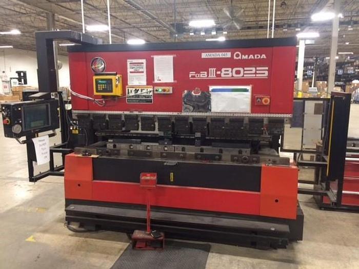 Used 88 TON AMADA CNC PRESS BRAKE