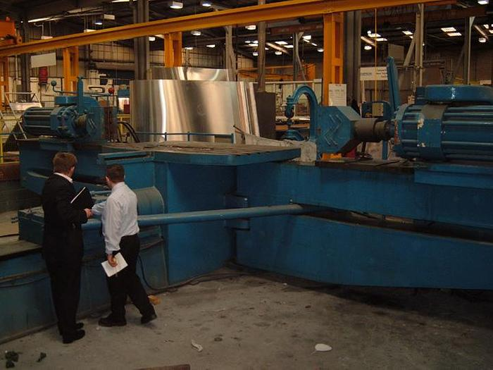 Used Hufford Model A-15 Stretch Forming Machine