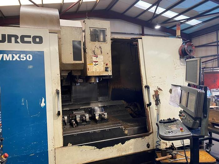 Used 2002 Hurco VMX50/50T Vertical Machining Center