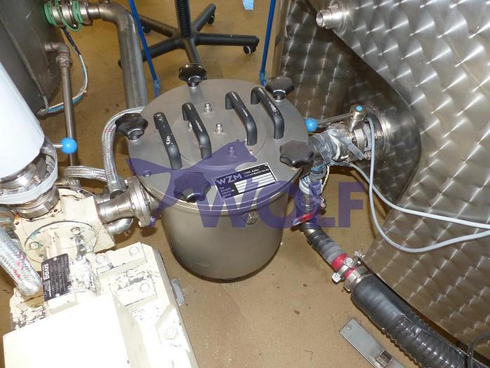 Gebraucht 2002 Masse-Magnetfilter WZM MAG-TR,