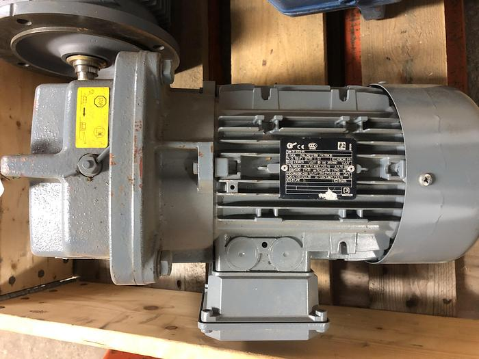 Used 1,1 kW, NORD, Electric motor with reducer