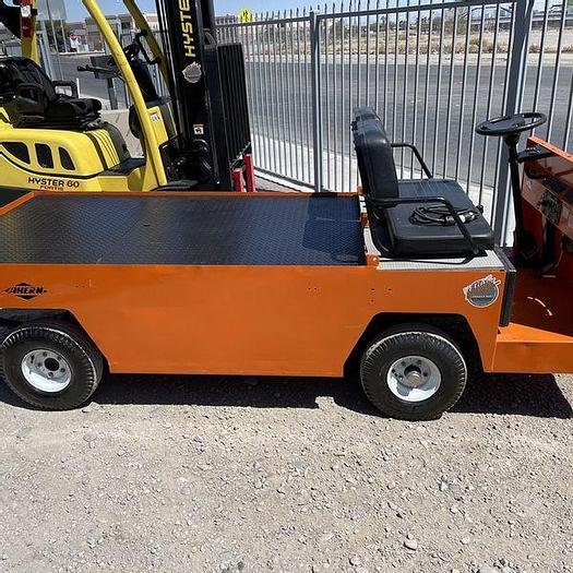 Used 2012 Columbia Payloader Flat Bed Cart