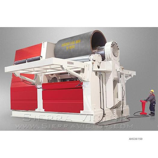 AKYAPAK 4-Roll Hydraulic Plate Roll AHS 30/10